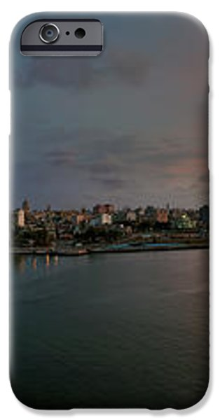 Panoramic view of Havana from La Cabana. Cuba iPhone Case by Juan Carlos Ferro Duque