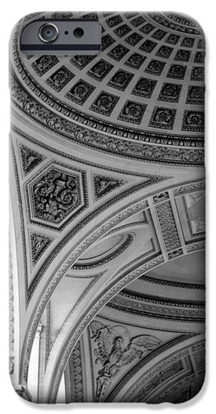 Arches iPhone Cases - Pantheon Arches iPhone Case by Sebastian Musial