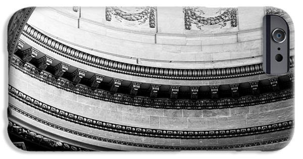 Paris iPhone Cases - Pantheon Dome iPhone Case by Sebastian Musial