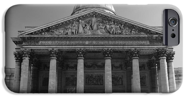 Dome iPhone Cases - Pantheon iPhone Case by Sebastian Musial