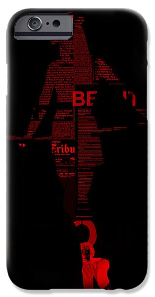 Seductive iPhone Cases - Paper Doll iPhone Case by Naxart Studio