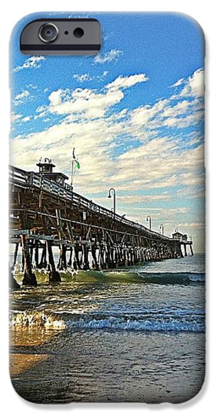 Paradise at the Pier iPhone Case by Traci Lehman