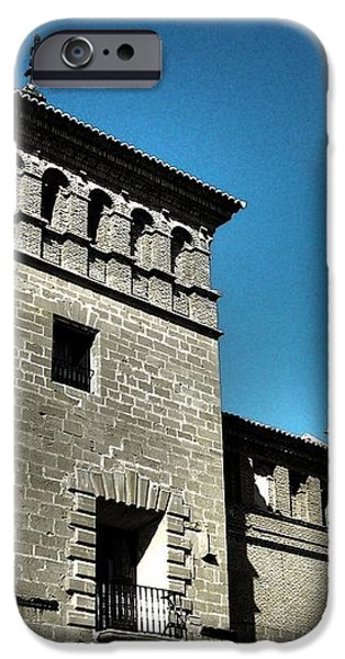Parador de Alcaniz - Spain iPhone Case by Juergen Weiss