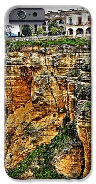 Parador Hotel Ronda - Andalusia iPhone Case by Juergen Weiss