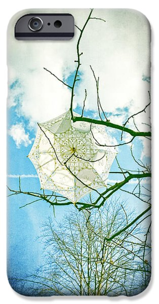 Screen iPhone Cases - Parasol iPhone Case by Joana Kruse