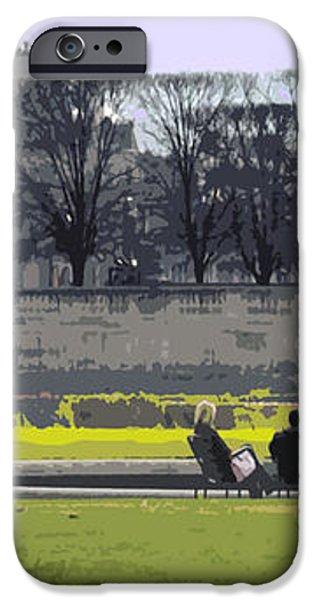 Paris 02 iPhone Case by Yuriy  Shevchuk