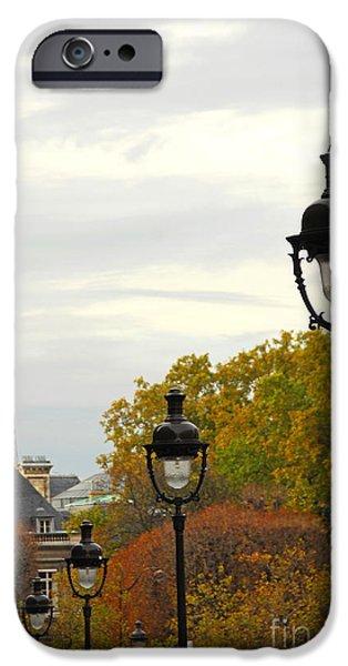 Building iPhone Cases - Paris street iPhone Case by Elena Elisseeva