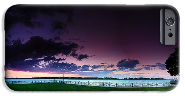 Windsor iPhone Cases - Park Pano iPhone Case by Cale Best