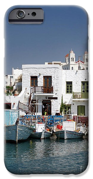 Enjoying iPhone Cases - Paros iPhone Case by Jane Rix