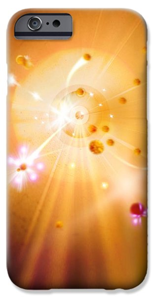 Digitally Created iPhone Cases - Particle Collision iPhone Case by Richard Kail