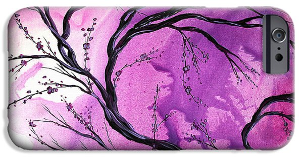 Abstract Style iPhone Cases - Passage Through Time by MADART iPhone Case by Megan Duncanson