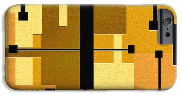 Geometrical Art iPhone Cases - Passive iPhone Case by Ely Arsha