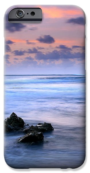 Pastel Tides iPhone Case by Mike  Dawson