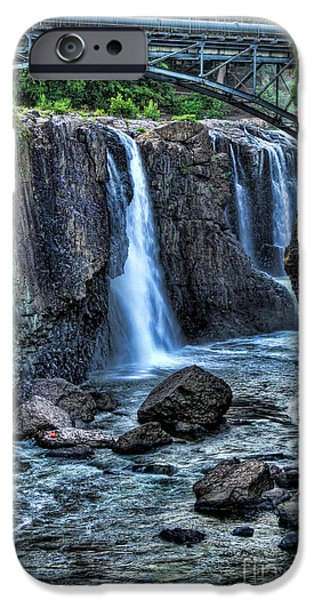 Historic Site iPhone Cases - Paterson Great Falls iPhone Case by Paul Ward