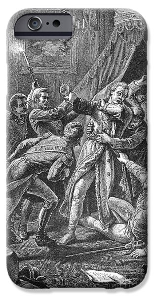 1801 iPhone Cases - Paul I: Assassination iPhone Case by Granger