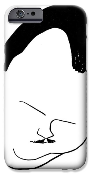 PAUL WHITEMAN (1890-1967) iPhone Case by Granger