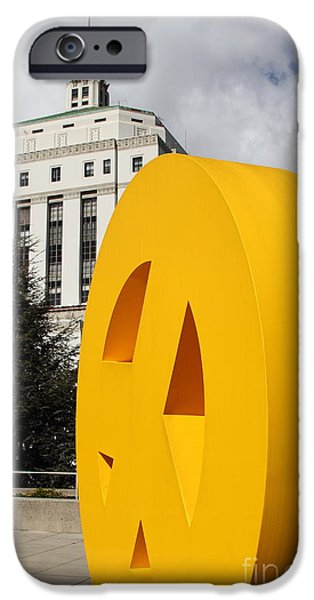 Peace From The Oakland Museum to The Supreme Court of California . County of Alameda . 7D13423 iPhone Case by Wingsdomain Art and Photography