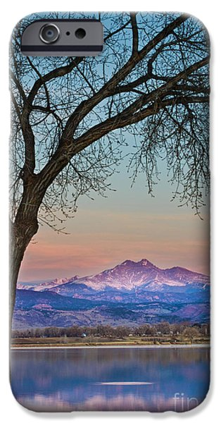 Epic iPhone Cases - Peaceful Early Morning Sunrise Longs Peak View iPhone Case by James BO  Insogna