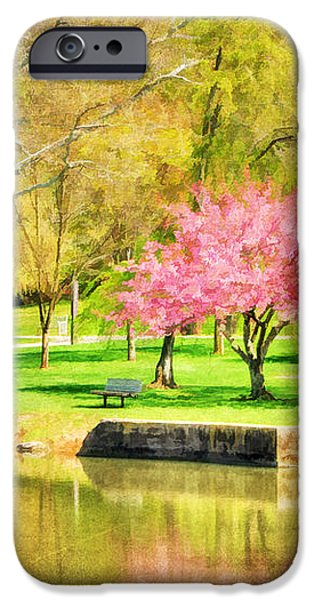 Peaceful Spring II iPhone Case by Darren Fisher