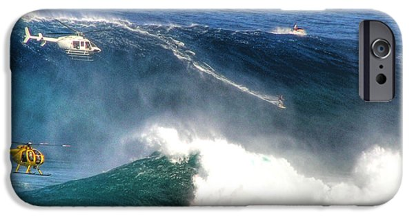 Extreme iPhone Cases - Peahi Maui iPhone Case by Dustin K Ryan