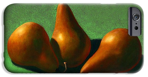 Pears iPhone Cases - Pears iPhone Case by Frank Wilson