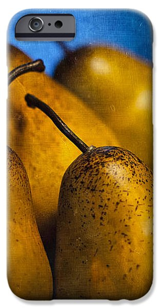 Pears Waiting iPhone Case by Scott Norris
