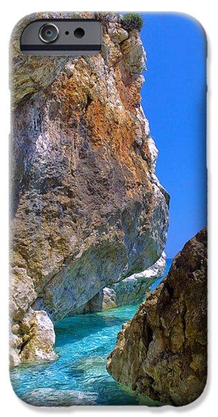 Pelion Rocks iPhone Case by Neil Buchan-Grant