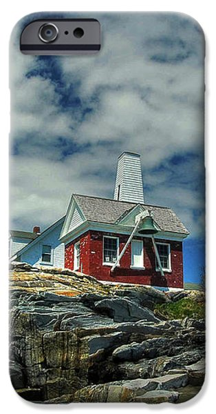 Pemaquid Lighthouse iPhone Case by Alana Ranney