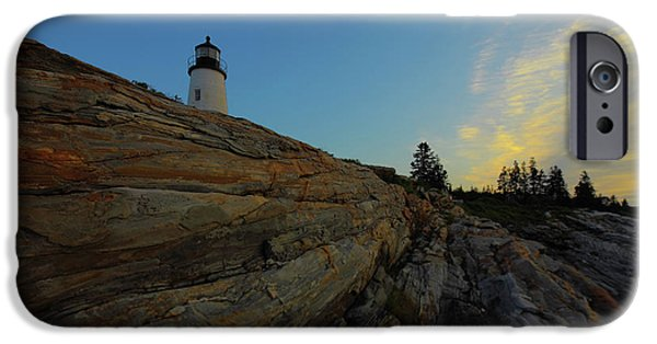 Pemaquid Lighthouse iPhone Cases - Pemaquid Morning iPhone Case by Rick Berk