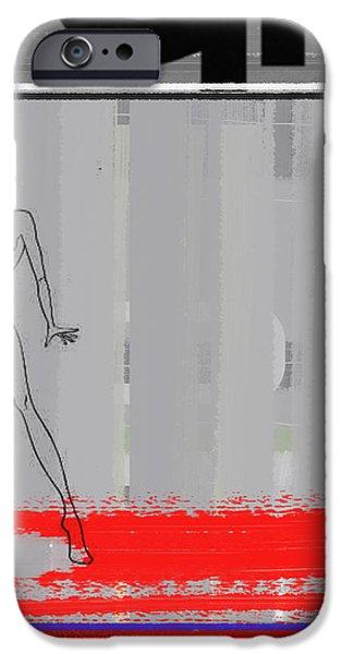 Seductive iPhone Cases - Pencil Fashion iPhone Case by Naxart Studio