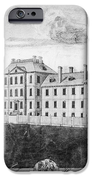 PENNSYLVANIA HOSPITAL, 1755 iPhone Case by Granger