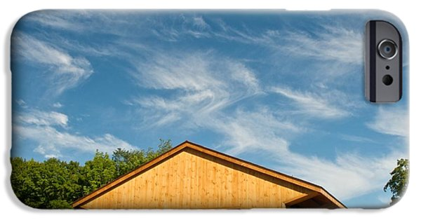 Covered Bridge iPhone Cases - Pepperell Covered Bridge iPhone Case by James Walsh