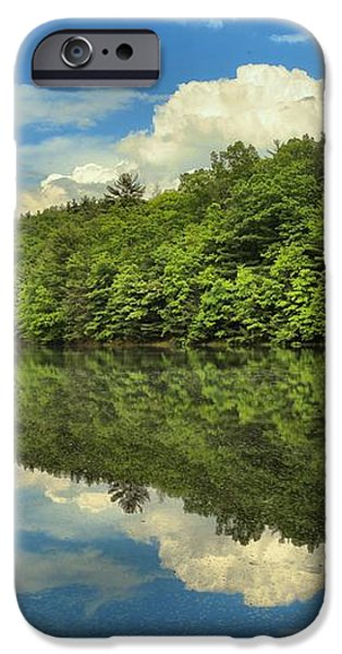 Perfect Reflections iPhone Case by Adam Jewell