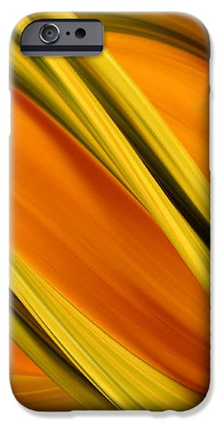 Peripheral Streak Image Of Squash iPhone Case by Ted Kinsman