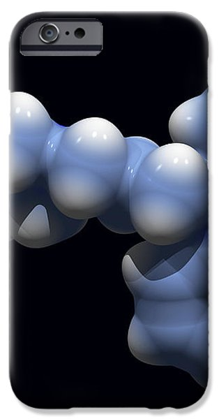 Perphenazine Antipsychotic Drug iPhone Case by Dr Tim Evans