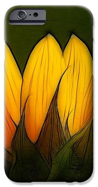 Petales de Soleil - a12 iPhone Case by Variance Collections