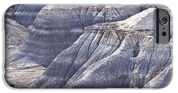 Getting Away From It All iPhone Cases - Petrified Forest National Park iPhone Case by Melany Sarafis