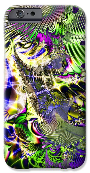 Phantasm . Square iPhone Case by Wingsdomain Art and Photography