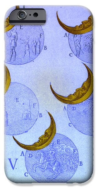 Phases Of An Eclipse iPhone Case by Science Source