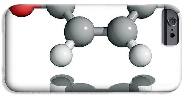World War One iPhone Cases - Phenol Molecule iPhone Case by Laguna Design