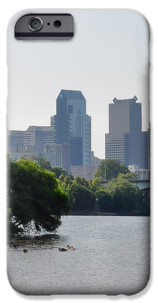 Philadelphia Along the Schuylkill River iPhone Case by Bill Cannon