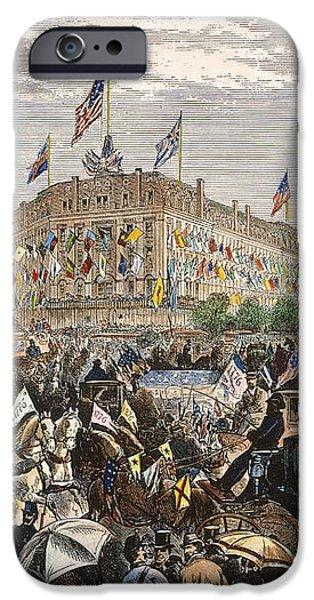 PHILADELPHIA EXPO, 1876 iPhone Case by Granger