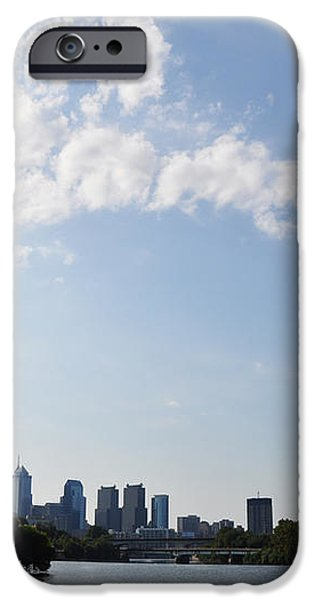 Philadelphia from Kelly Drive iPhone Case by Bill Cannon