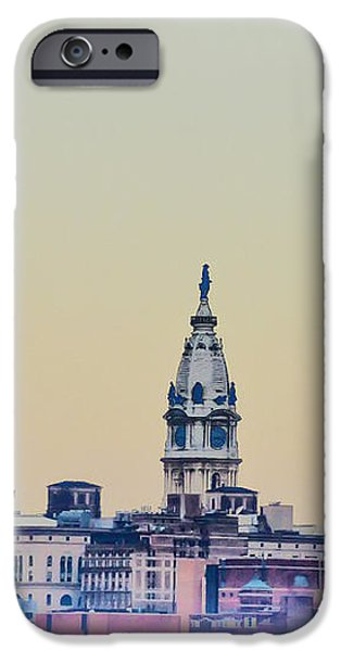 Philadelphia From South Camden iPhone Case by Bill Cannon