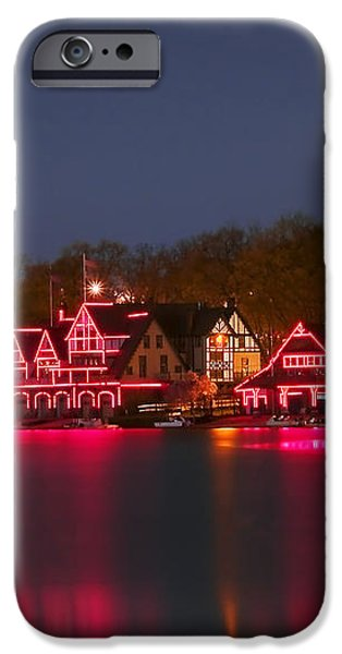 Philadelphia Night iPhone Case by Svetlana Sewell