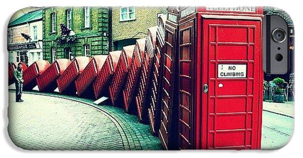#photooftheday #london #british iPhone Case by Ozan Goren