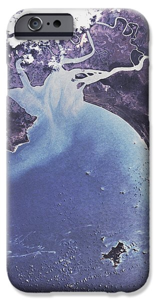 Phytoplankton Or Algal Bloom iPhone Case by NASA