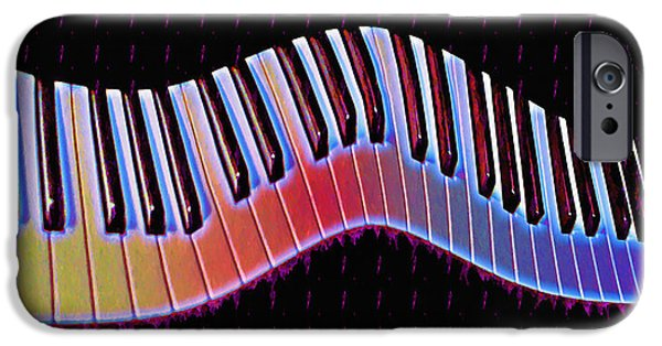 Piano iPhone Cases - Piano Roll iPhone Case by Bill Cannon