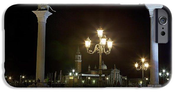 Piazza San Marco iPhone Cases - Piazzetta San Marco - Venice iPhone Case by Joana Kruse