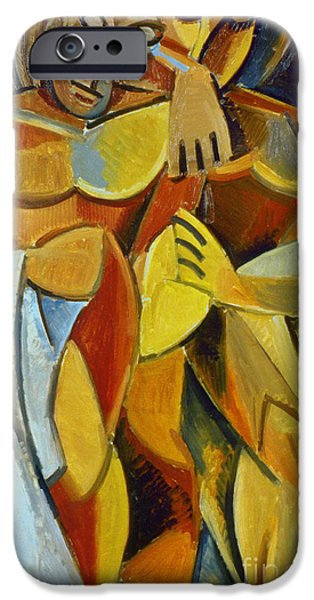 Cubist iPhone Cases - Picasso: Friendship, 1907 iPhone Case by Granger